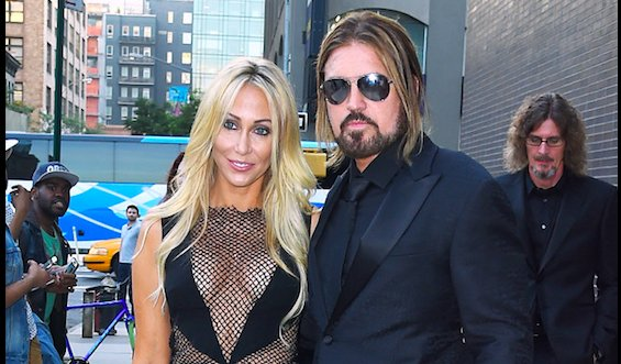 No achy break hearts here: Billy Ray Cyrus and Tish Cyrus have dismissed their divorce case:
