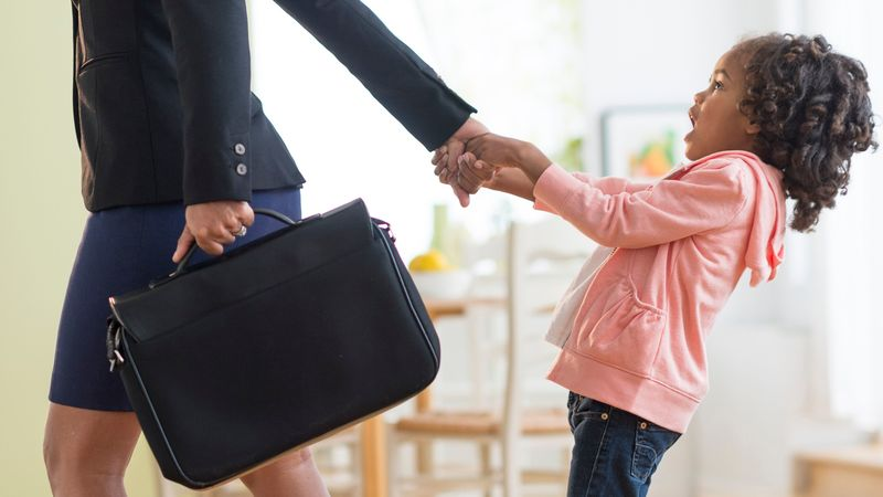 Having children holds your career back, according to new study...