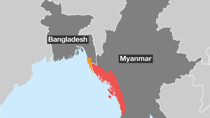 Rohingya crisis explained in maps https://t.co/fWIELEbkvZ https://t.co/2XdhB65IqX