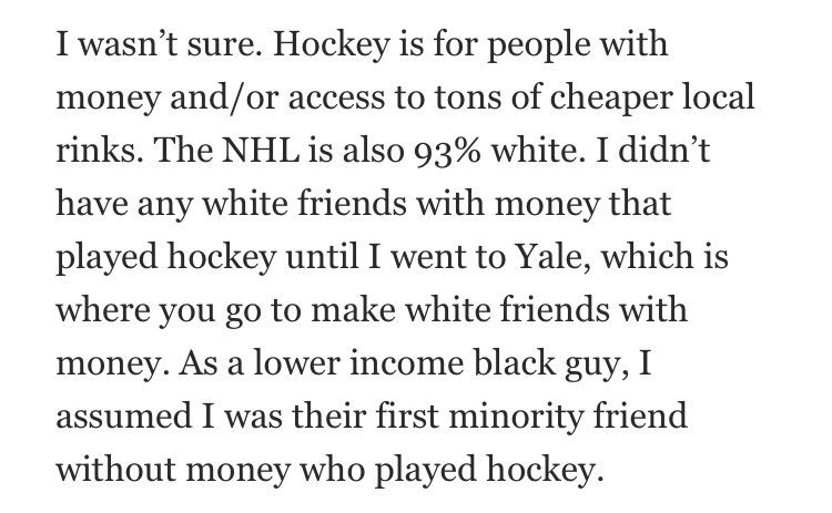 Editorial from @yolo_pinyato:  Actions speak louder than words: Hockey is not for everyone https://t.co/eJsnUJKNEr https://t.co/nGXtTzH883