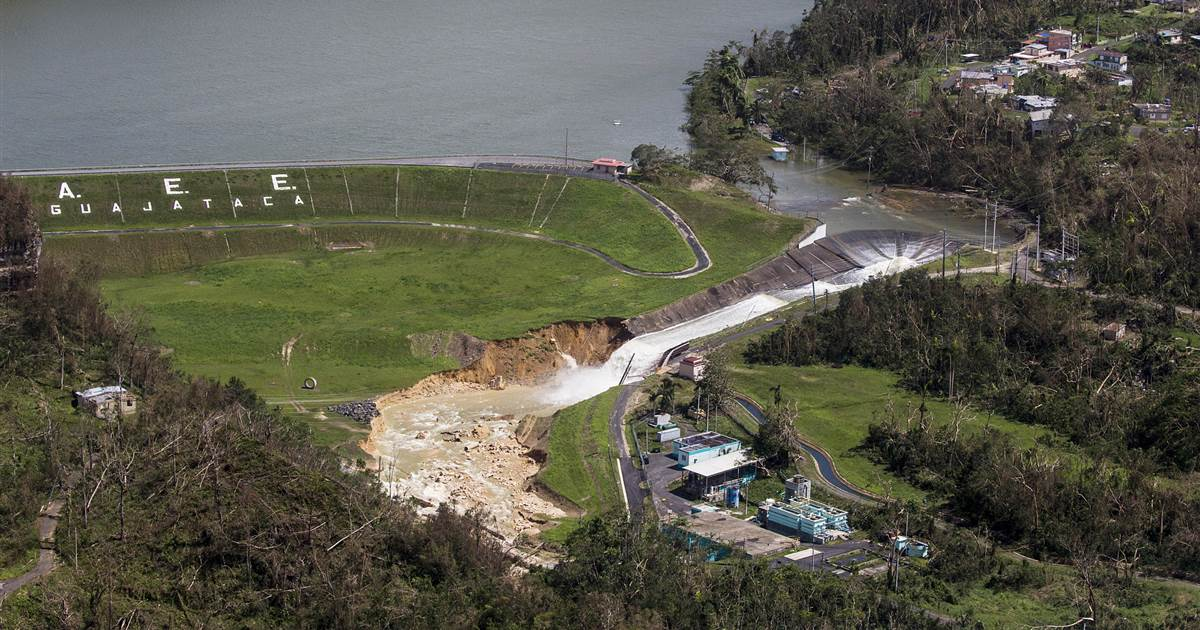 Puerto Rico's Guajataca Dam is still a danger after Hurricane Maria