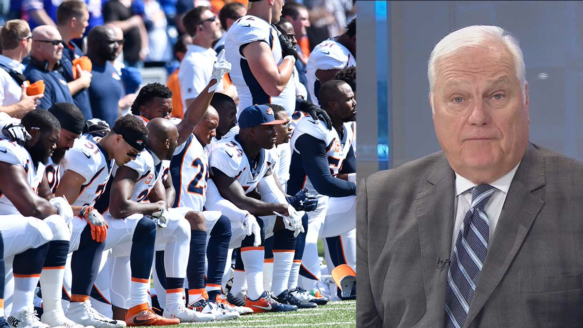 Hansen Unplugged: Anthem protests not about disrespecting the flag htt...