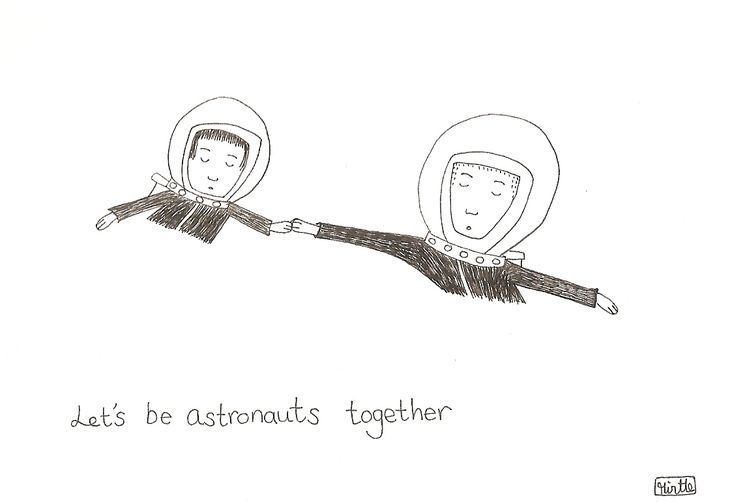 RT @hitRECord: Astronaut friends forever ????✨  https://t.co/HecPrnhGm0 https://t.co/83c42w24NR