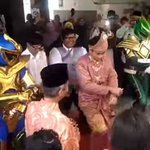 Couple's Power Ranger entourage at Malay wedding is really quite power - Singapore