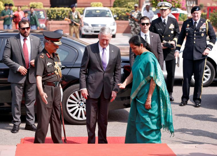Mattis seeks deeper ties with India amid China assertiveness