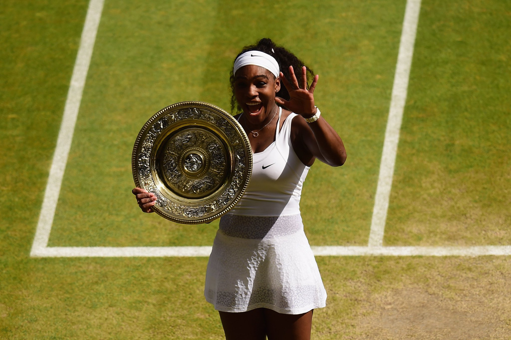 Happy birthday @serenawilliams ��  #OnThisDay in 1981, a legend was born.  23 Grand Slams later, she's still going! https://t.co/qA8yJosQ9F