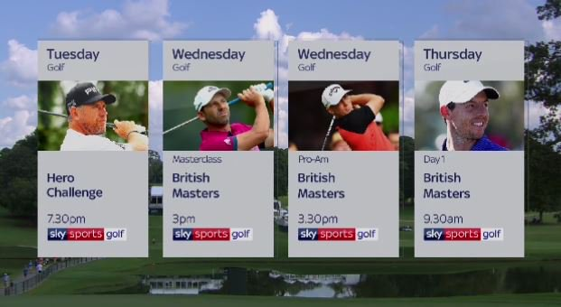 #BritishMasters week is here! Ways to watch: https://t.co/dU6N8b7cQO #GolfOnSky https://t.co/qNdnIiVwLd