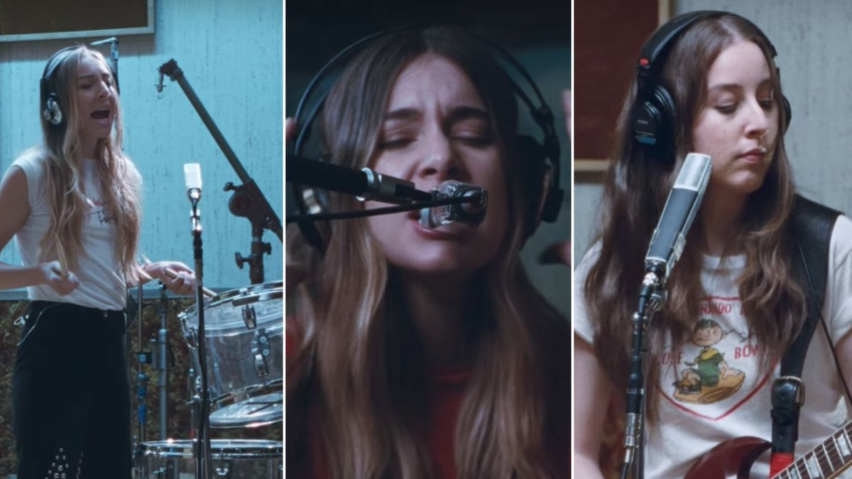 Haim Play Literally All The Drums In New Short Film Valentine