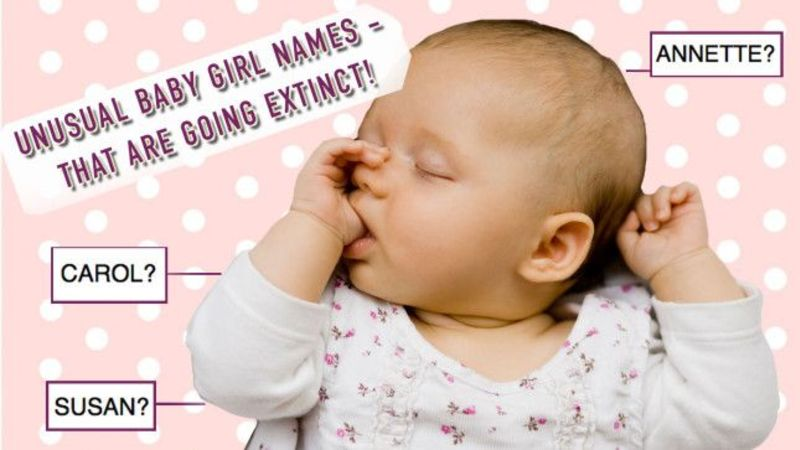 11 unusual baby girl names that are going extinct
