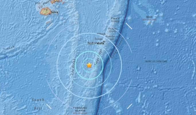 Two powerful earthquakes strike just off coast of holiday island Fiji