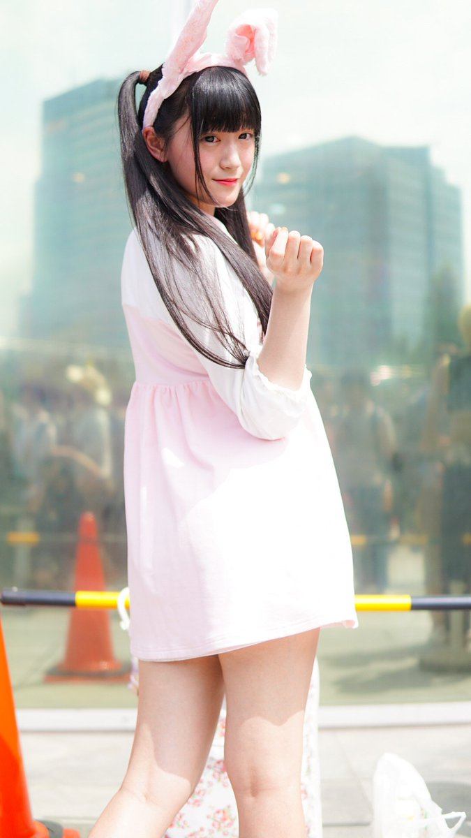 2017 8.13 夏コミケオリジナルうさぎ女児みやびすけっとさん( )#c92  #C92コスプレ #ポートレート