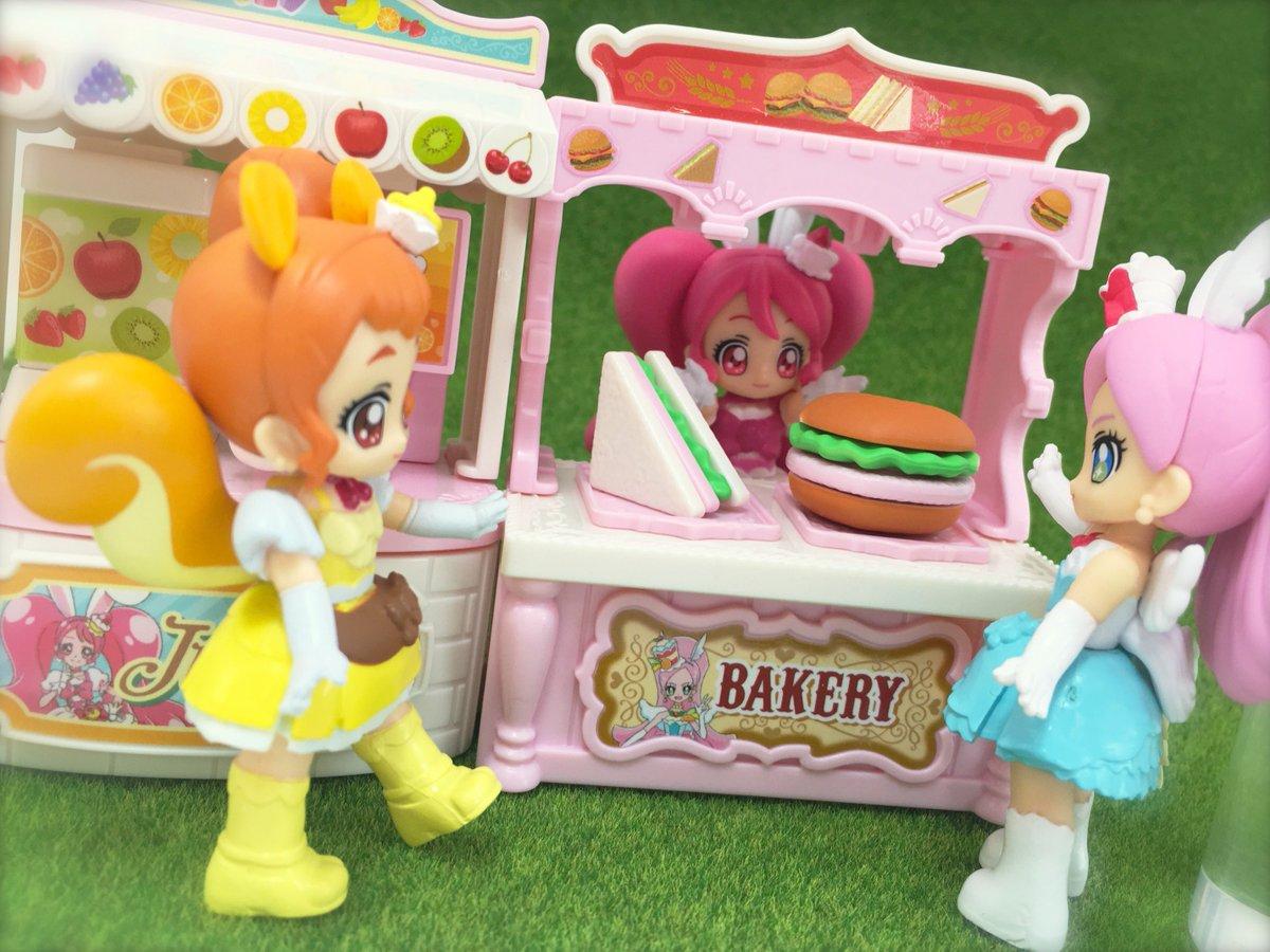 プリキュアとハッピーライフ ショッピングマルシェが本日発売💝プリキュアのドール「ぷりきゅ~と」と一緒に遊べます♪お菓子売
