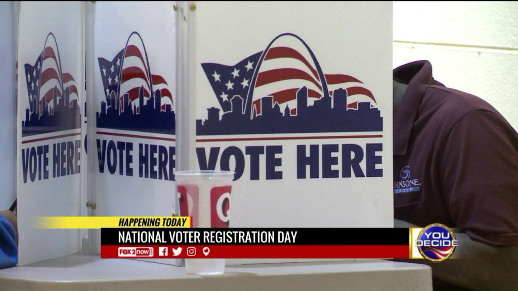 National Voter Registration Day across US