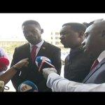 Scuffle at Parliament as Police Blocks Kyadondo East MP Hon. Robert Kyagulanyi