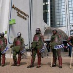 Tight security in CBD as NASA protesters stage anti-IEBC protests (photos)