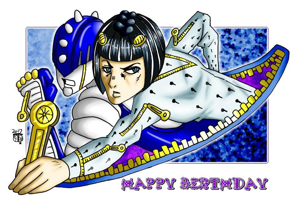 #jojo #ブチャラティ生誕祭 #ジョセフ生誕祭 今日は「ジョジョの奇妙な冒険」のジョセフ・ジョースターとブローノ・ブ