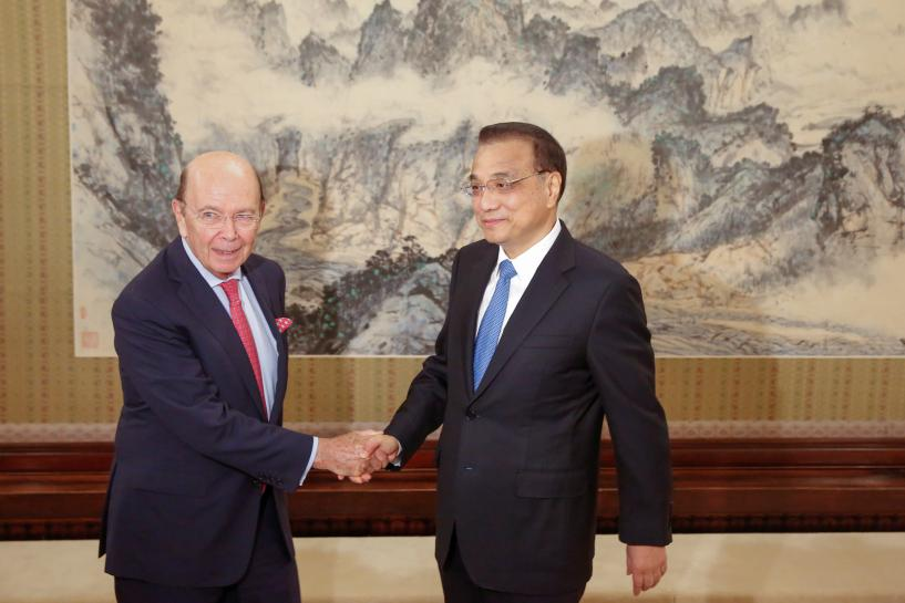 Commerce Secretary Ross tells China to guarantee fairness for U.S. firms