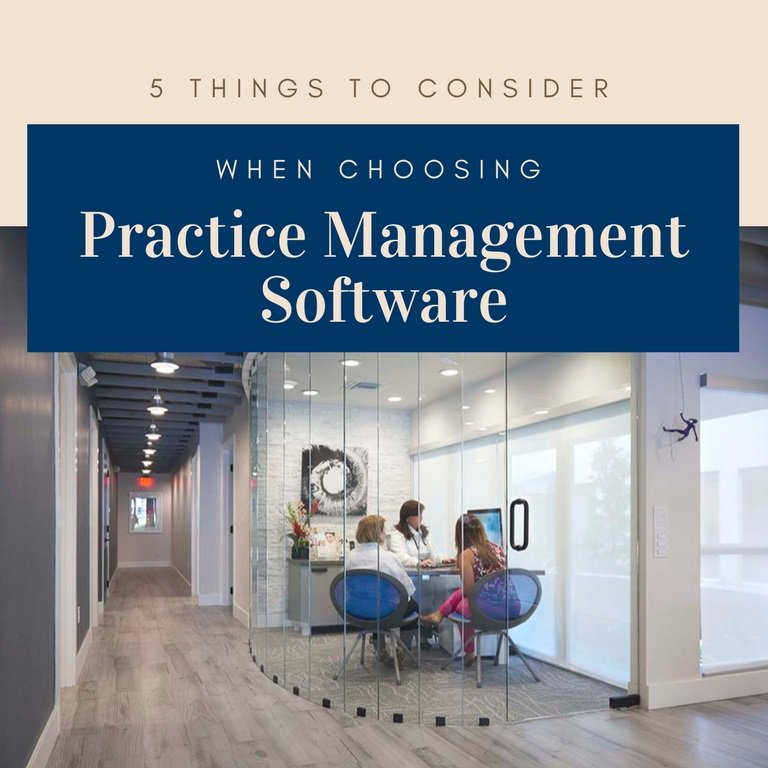 Consider these 5️ factors when evaluating a practice management system that will maximize your business's success: https://t.co/ToG225OwM7 https://t.co/bwUrQFfbFU