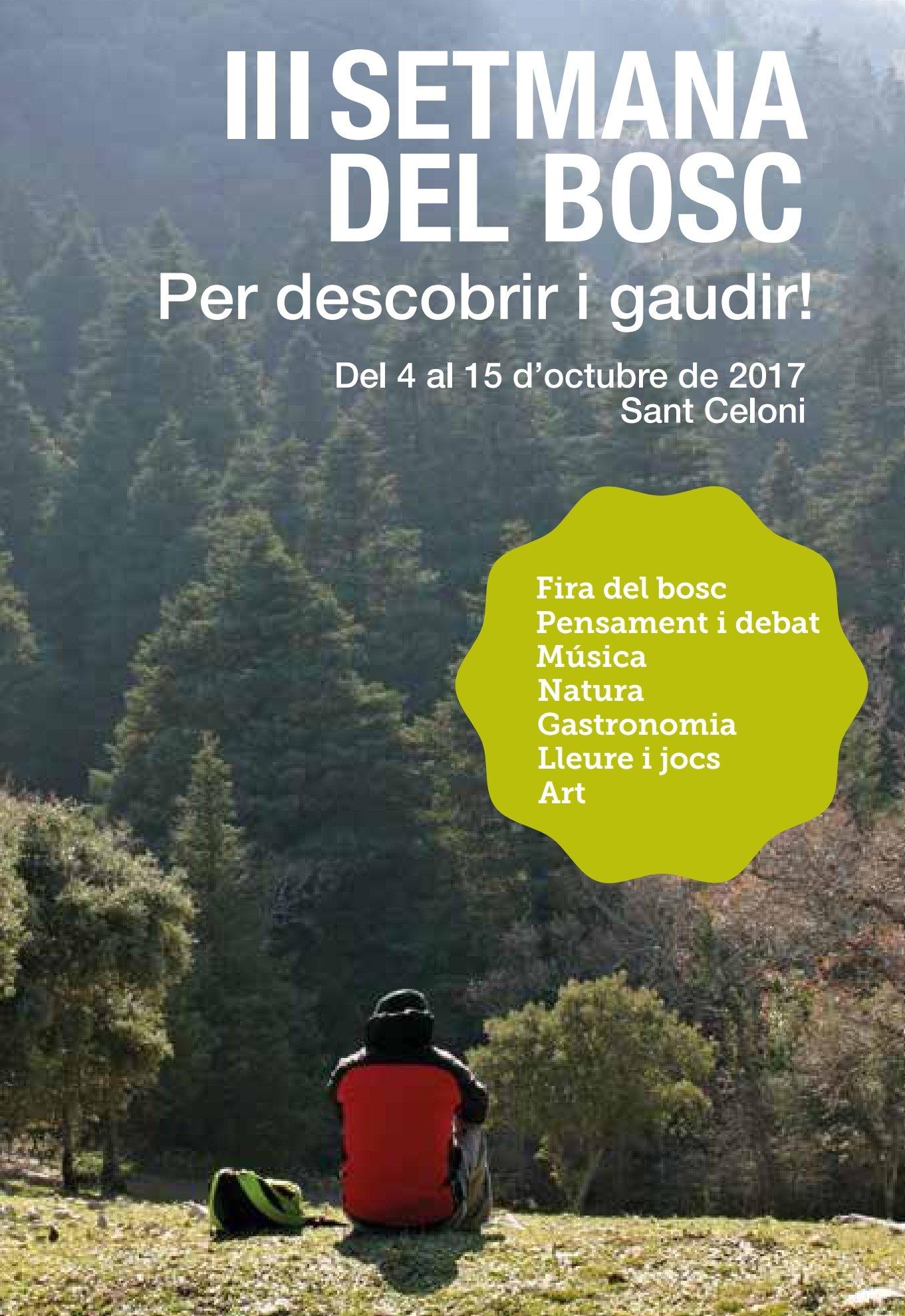 Ja podeu fer un cop d'ull al nou programa de la #SetmanadelBosc de #SantCeloni. Acabat de sortir del forn! ���� https://t.co/N9foF5pJ8n