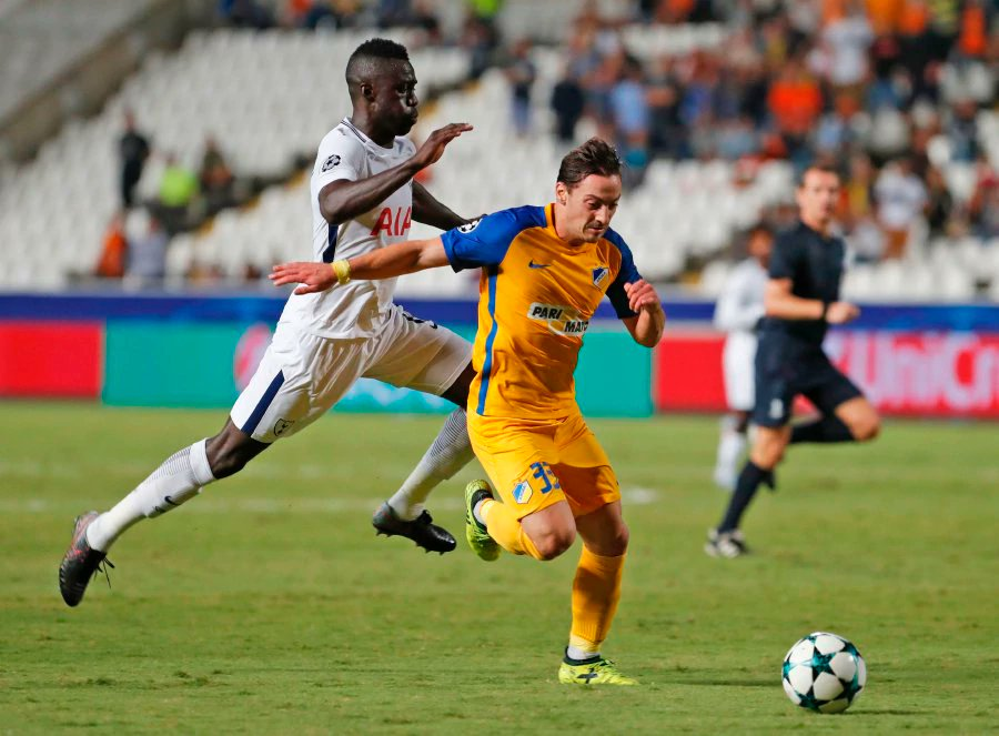 Kane hat-trick seals easy victory for Spurs in Cyprus