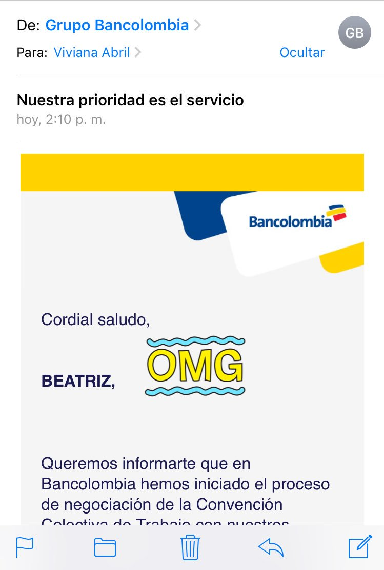 bancolombia servicio al cliente