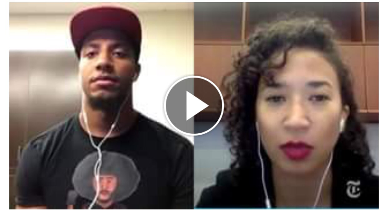 Watch my interview with @NYTOpinion about why @Kaepernick7 and I decided to take a knee  https://t.co/xE91eOhUDE https://t.co/R1zrzfQFhC