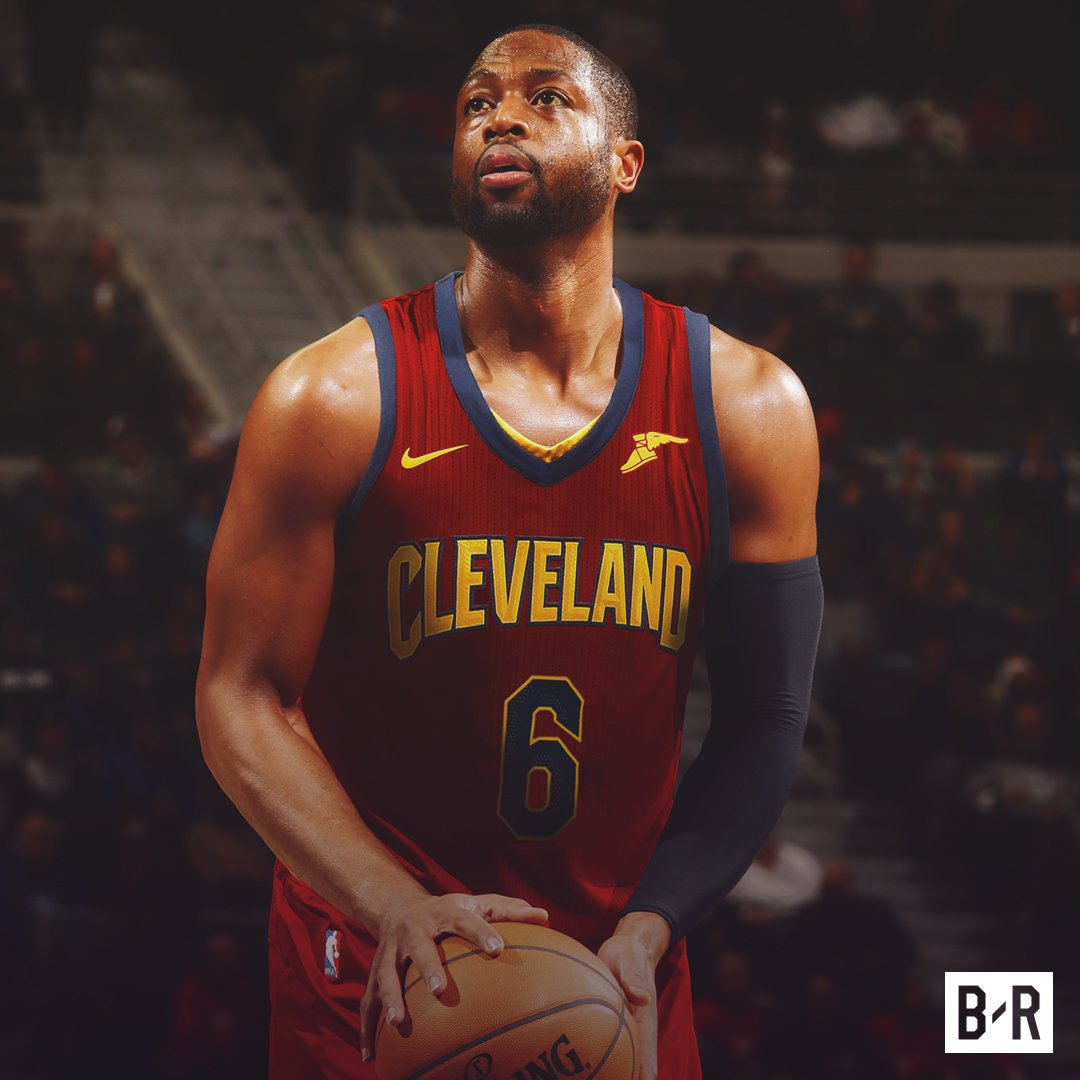 Breaking Dwyane Wade agrees to one-year, $2.3M deal with the Cavs, per @ShamsCharania