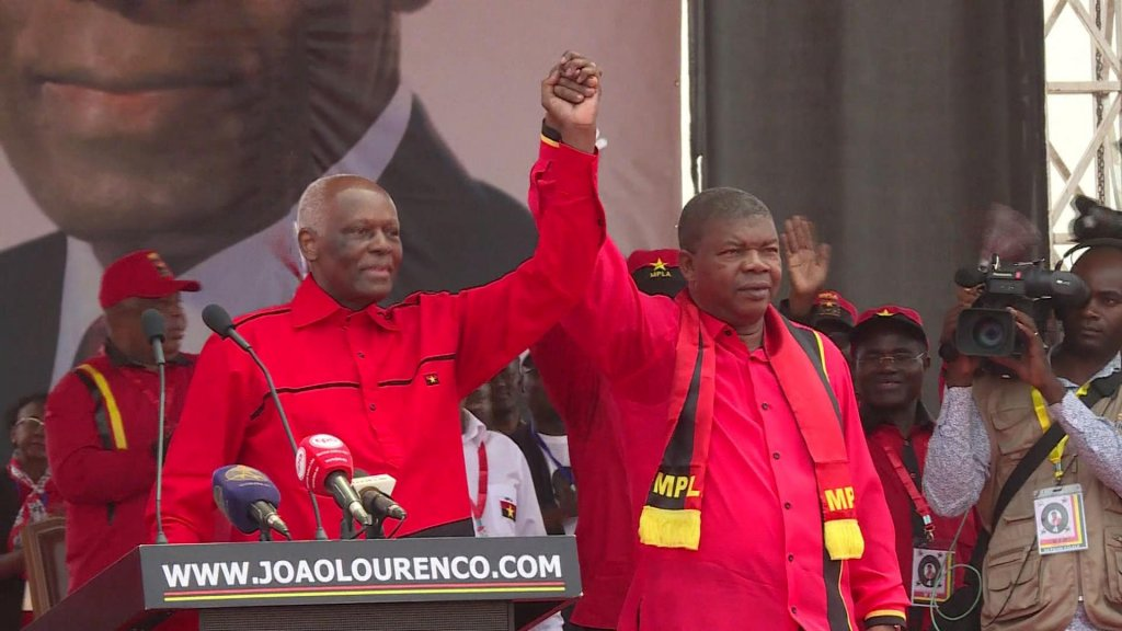 EYE ON AFRICA - Joao Lourenco sworn in as Angola's first new president in 38 years