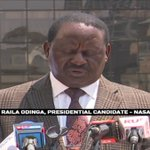 Raila Odinga links Safaricom to August 8th poll row