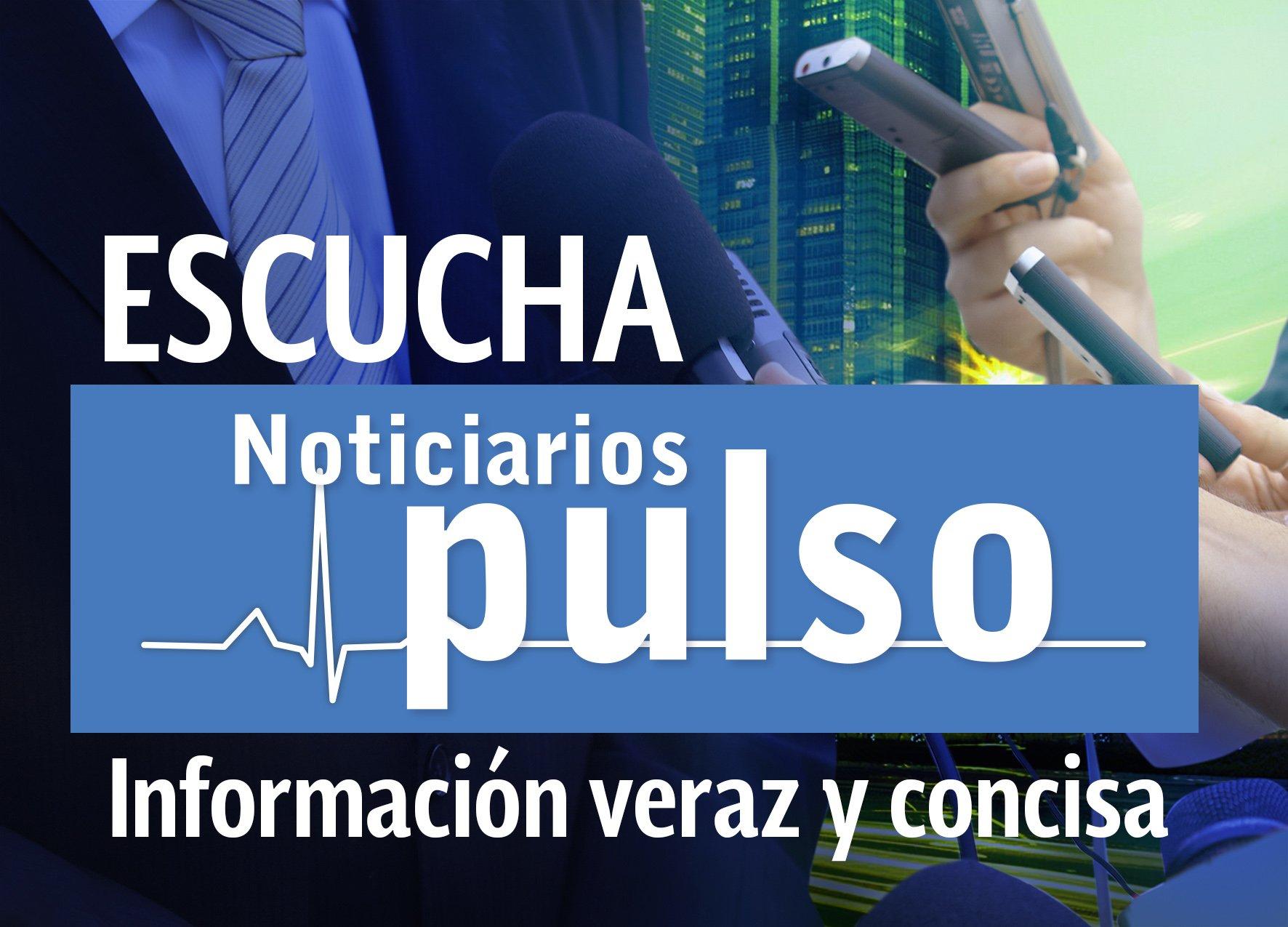 Para mantenerte informado te invitamos a escuchar nuestro noticiario #PulsoDeLaNoche https://t.co/NHiFo81n6d https://t.co/gau3PL4bvo