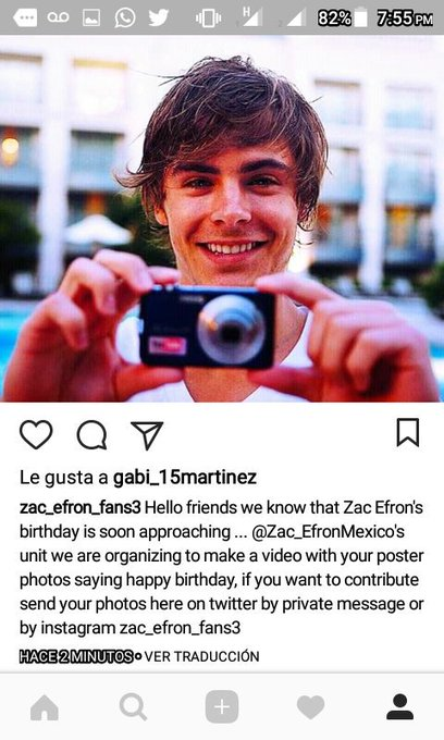 Here the bases for the happy birthday video photo ... consult in instagram zac_efron_fans3 deadline: October 15