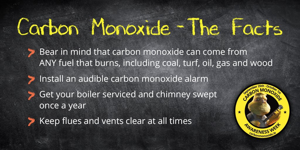 Learn all you need to know about carbon monoxide at https://t.co/PMprPOyIZg #COAwarenessWeek https://t.co/qs1Nn4JmaS