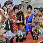 Fashion jewellery show at KIFT