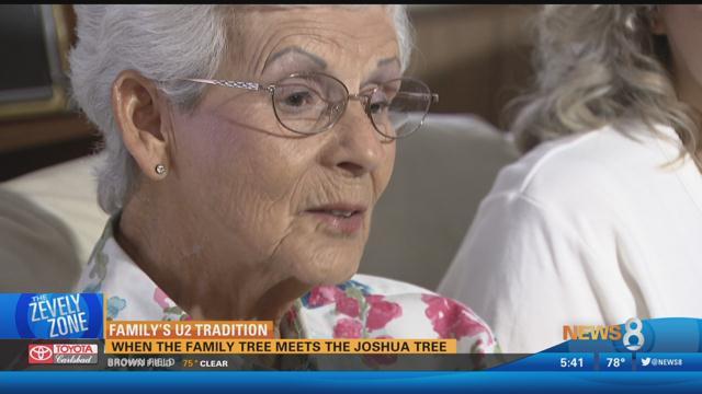 Family's U2 Tradition: When the family tree meets the Joshua Tree