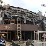 It was a Mexico City office building. Now, after the earthquake, it's a tomb