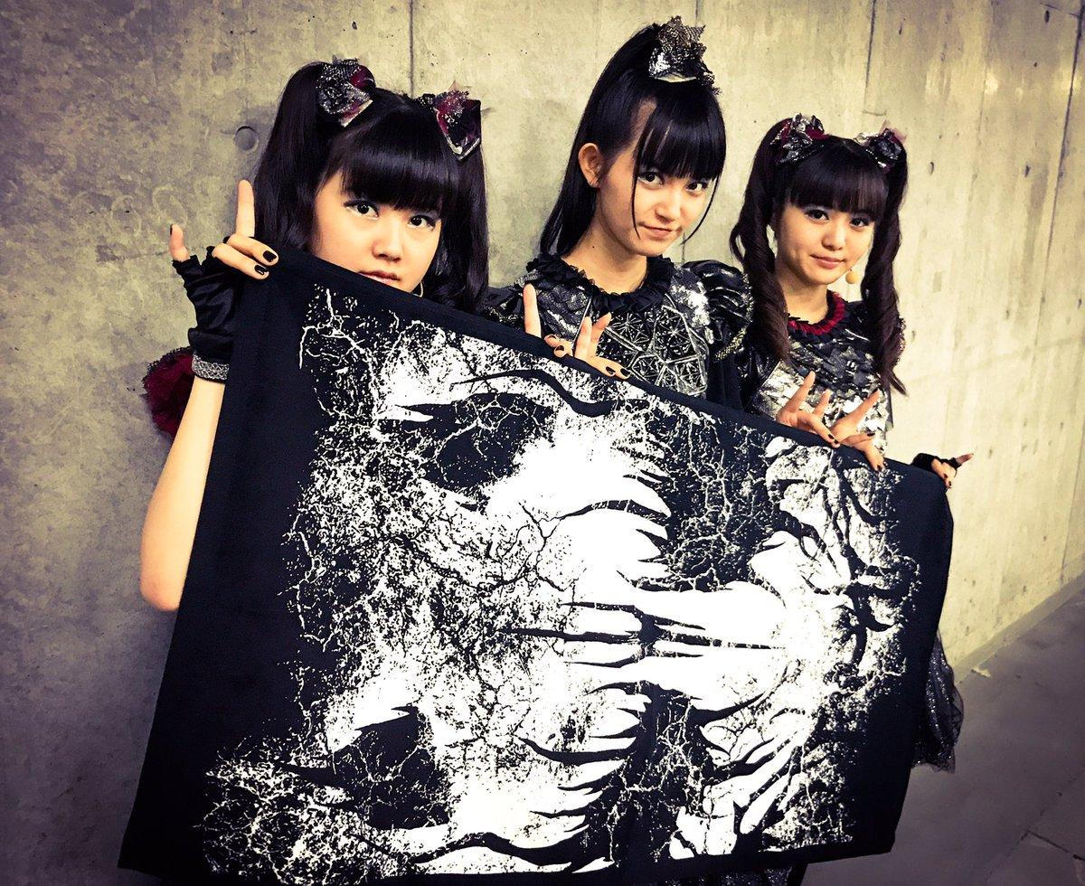 Thank you BIG FOX FESTIVAL DAY-2!! #BABYMETAL #巨大キツネ祭り https;//t.co/kickRu2trN