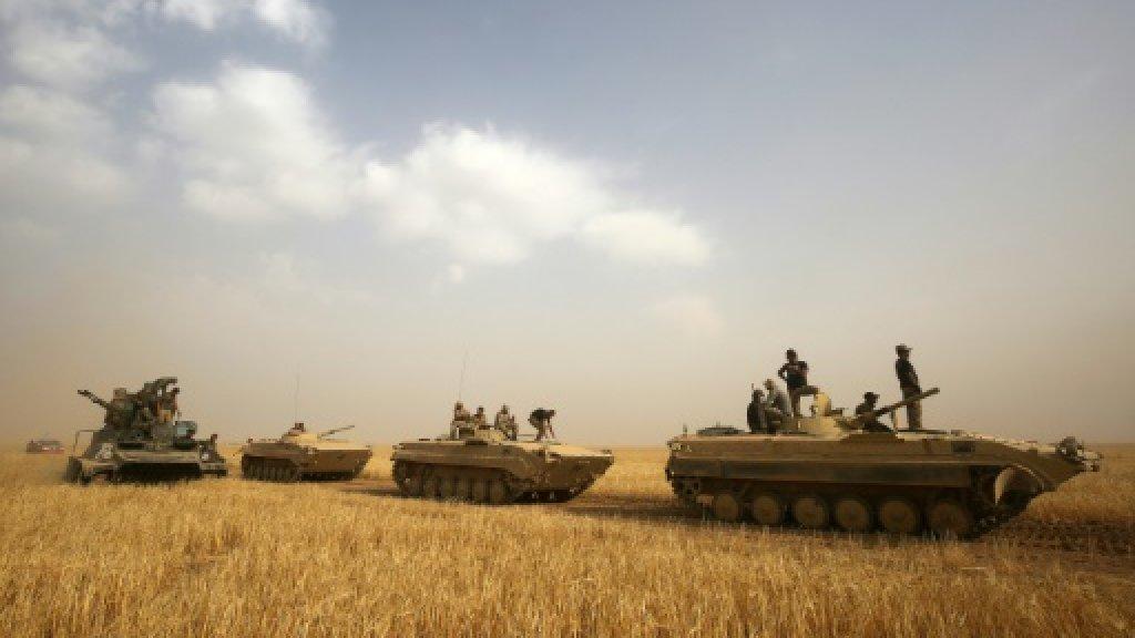 Iraq says defeats IS infiltration near Ramadi