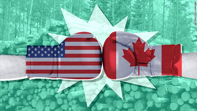Is Trump trying to start a trade war with Canada?