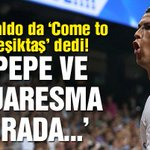 Cristiano Ronaldo da 'Come to Beşiktaş' furyasına katıldı