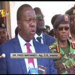 Matiang'i cautions politicians against inciting supporters to violence