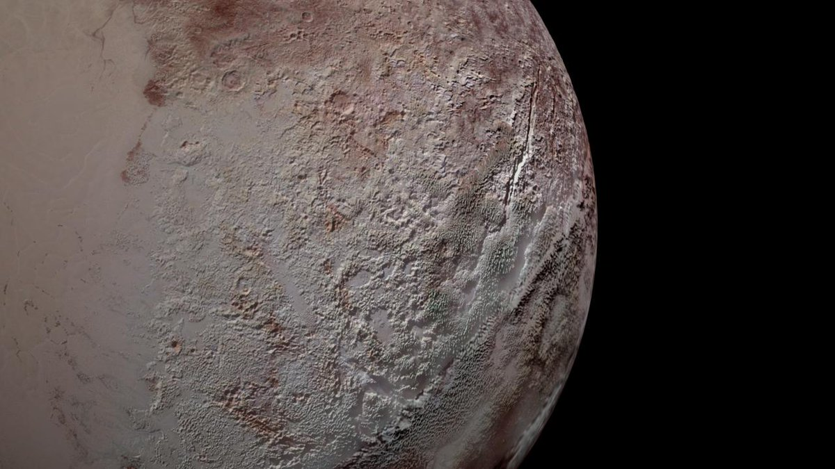 Gigantic spikes of ice give scientists a peek at Pluto's climate history