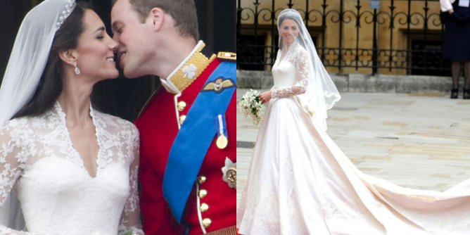 Kate Middleton Actually Had A SECOND Wedding Dress... And It's Beautiful