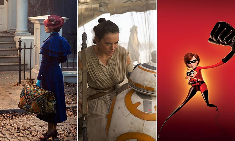 Calling all Disney fans! Check out the film schedule until 2019!