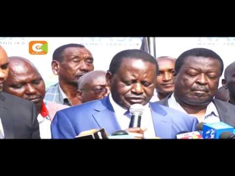 Raila Odinga threatens economic sabotage against Safaricon