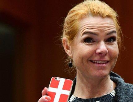Danish minister posts screen grab of Muhammad cartoon