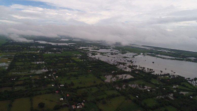Inundaciones causan estragos en al menos seis departamentos