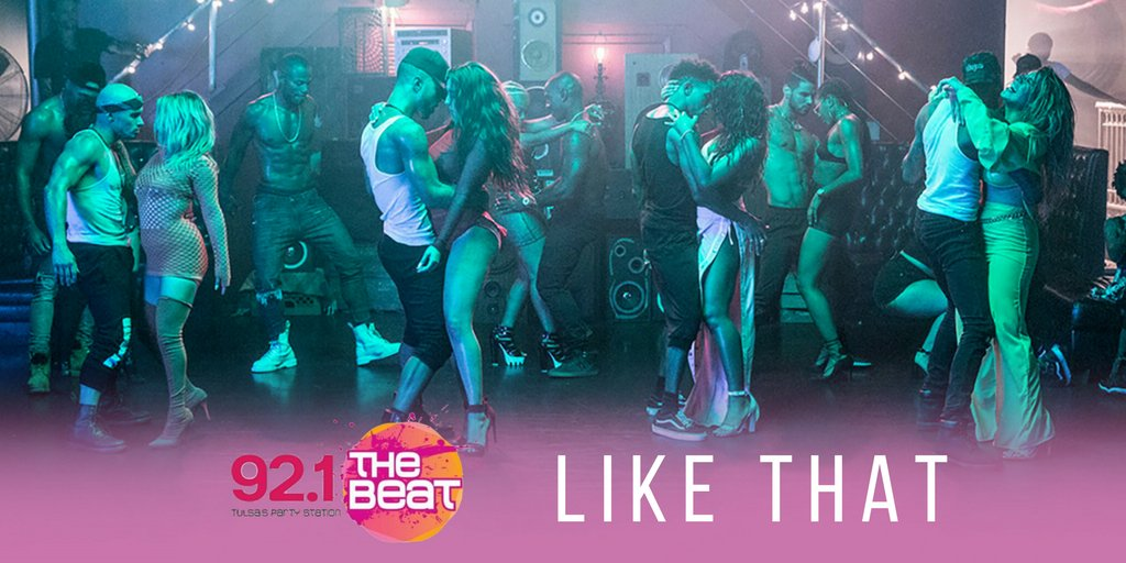 .@921thebeat! You are INCREDIBLE. #HeLikeThat https://t.co/dKw92A0ShK