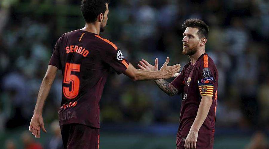 Ligue des champions. Le Barça s'impose de justesse au Sporting Portugal