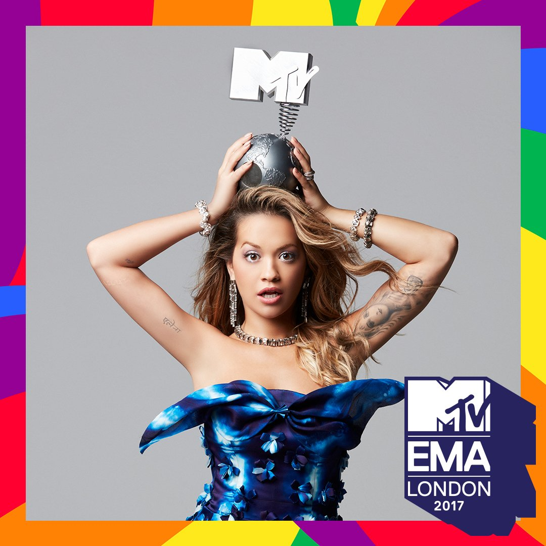 RT @mtvema: We're so excited to announce our 2017 #MTVEMA host, THE AMAZING @RitaOra ????????????????❤️ #LondonIsOpen https://t.co/8LPShbLvbJ