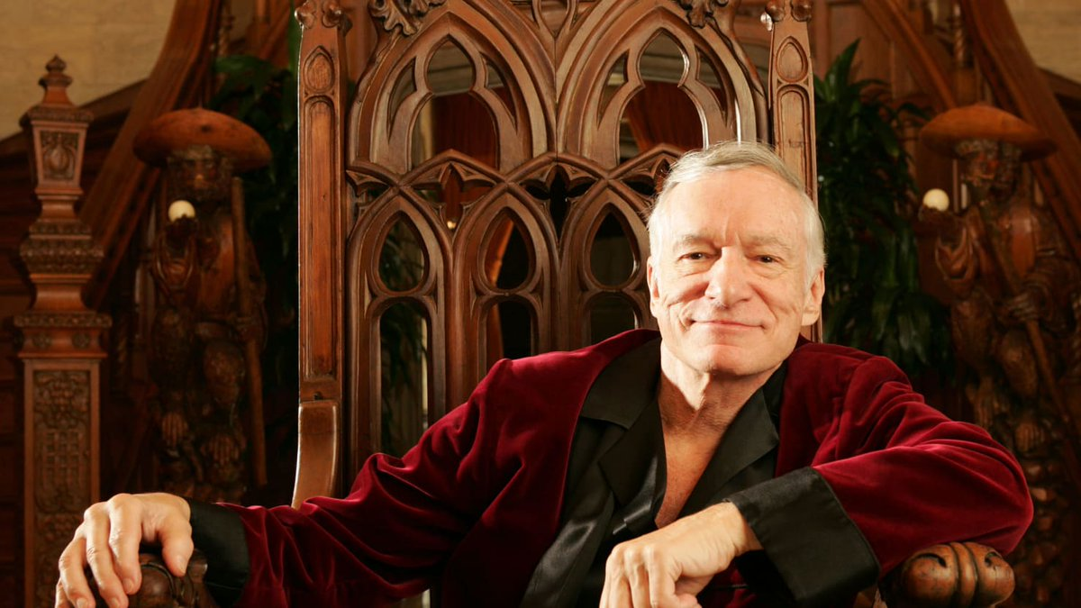 RT @consequence: BREAKING: Playboy founder #HughHefner has died at the age of 91 https://t.co/y5fYfSY67V https://t.co/YZu7xtF62x